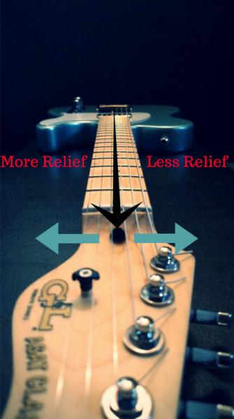 Guitar Neck Truss Rod Adjustment