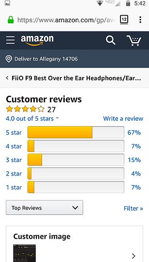 Best In Ear Headphones Under $100 FiiO F9 (10)