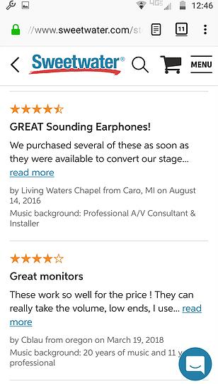 Best In Ear Headphones Under $100 Audio Technica ATHe40 (2)