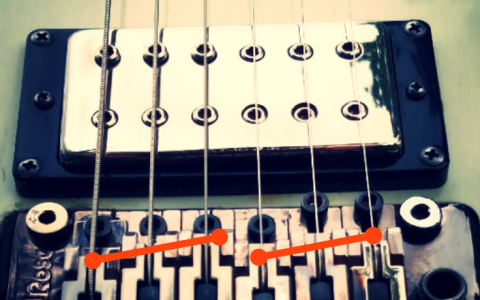 How to Adjust Guitar Intonation 2