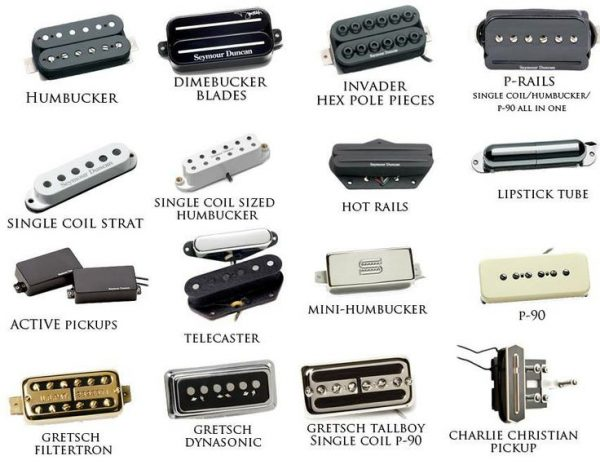 Guitar Pickups Varieties
