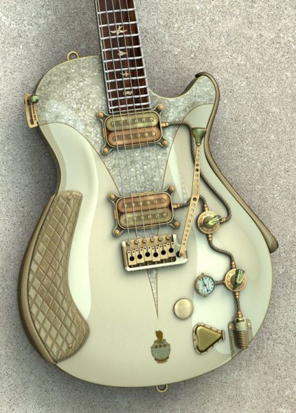 10 Steampunk Guitars You Can Build
