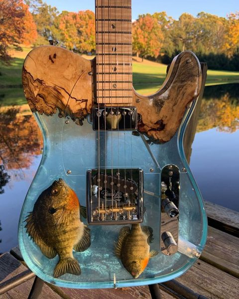 JL Custom Guitars Bluegill Telecaster Clone