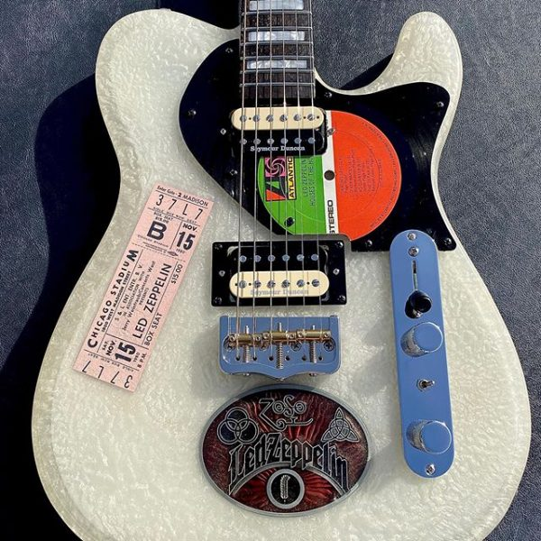 JL Custom Guitars Led Zeppelin Telecaster Clone