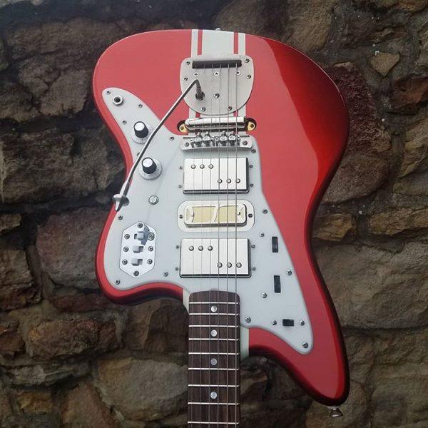 Best New Guitar Brands - Shelton Electric Instruments Jaguar