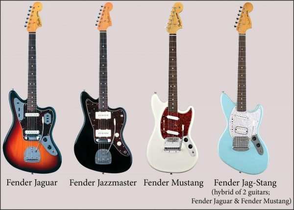 Fender Jaguar vs Jazzmaster 3