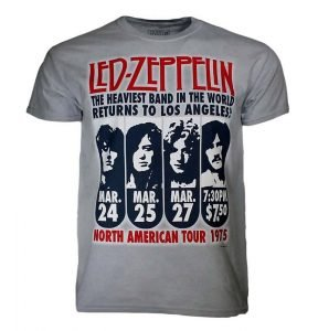 Led Zeppelin 1975 LA Tour T-Shirt
