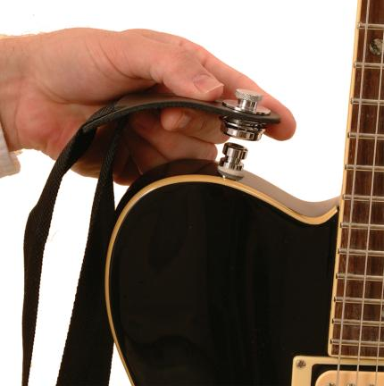 Acoustic Guitar Strap Locks