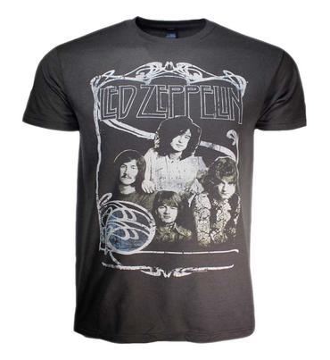 Led Zeppelin Band Promo T-Shirt
