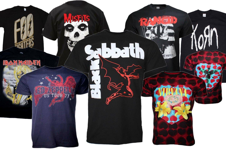 Best Band T-Shirts Cheap, Metal Band T-Shirts, Punk T Shirts, Vintage Rock and Roll T-Shirts